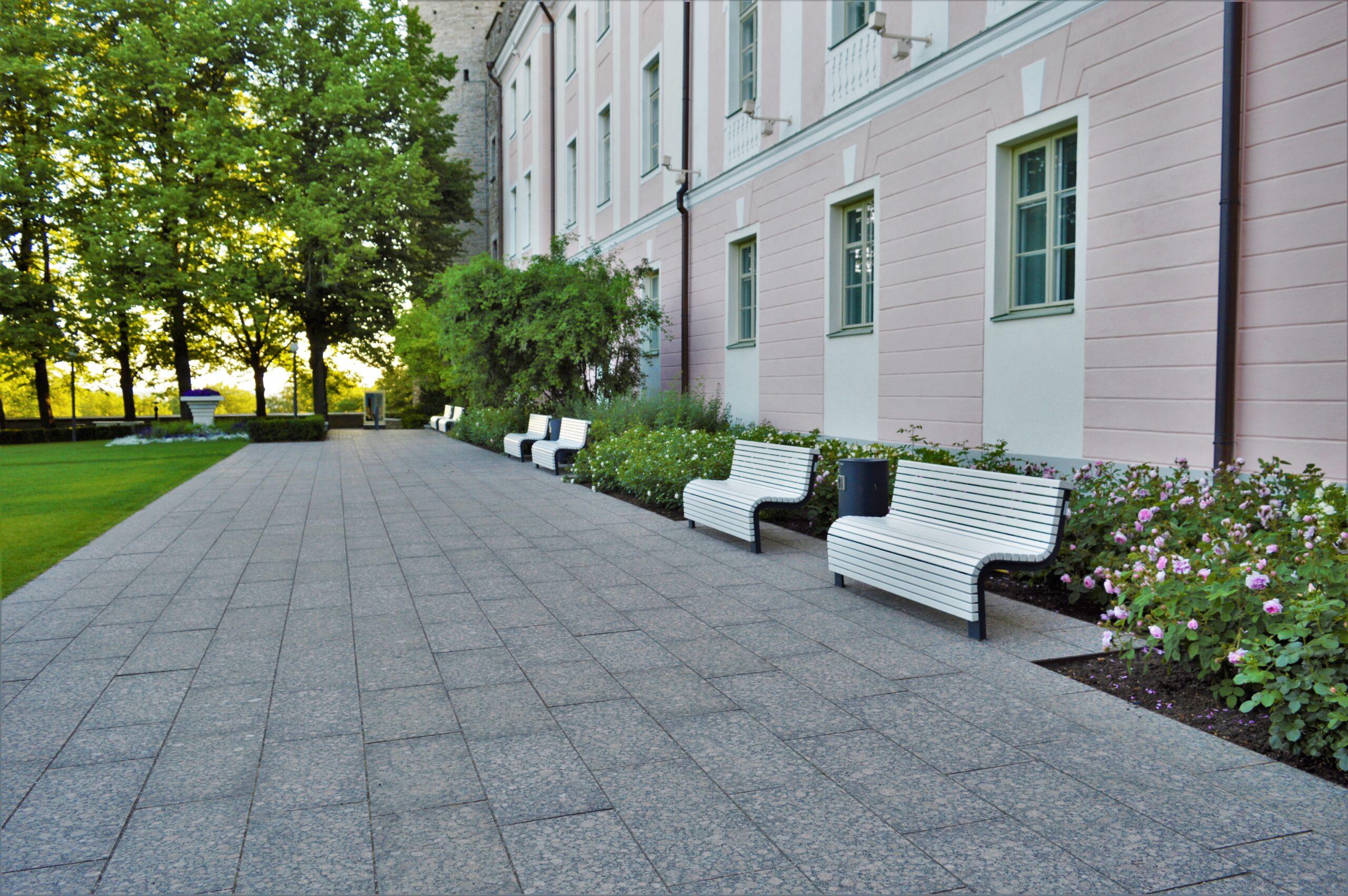 park bench Voog
