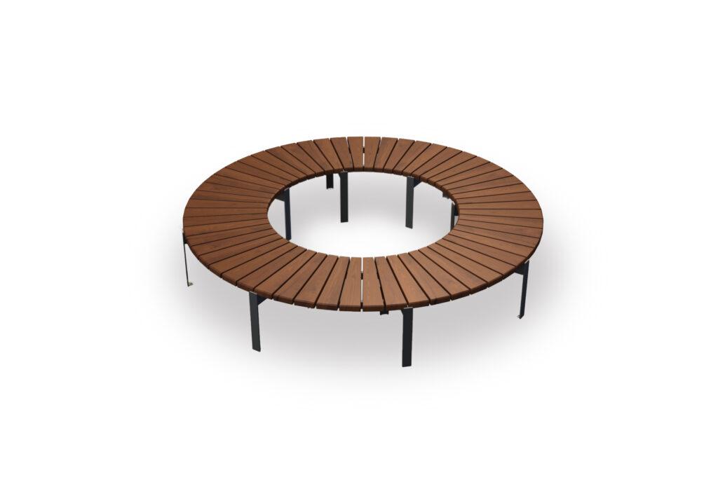 modular park bench Jada cyrcle