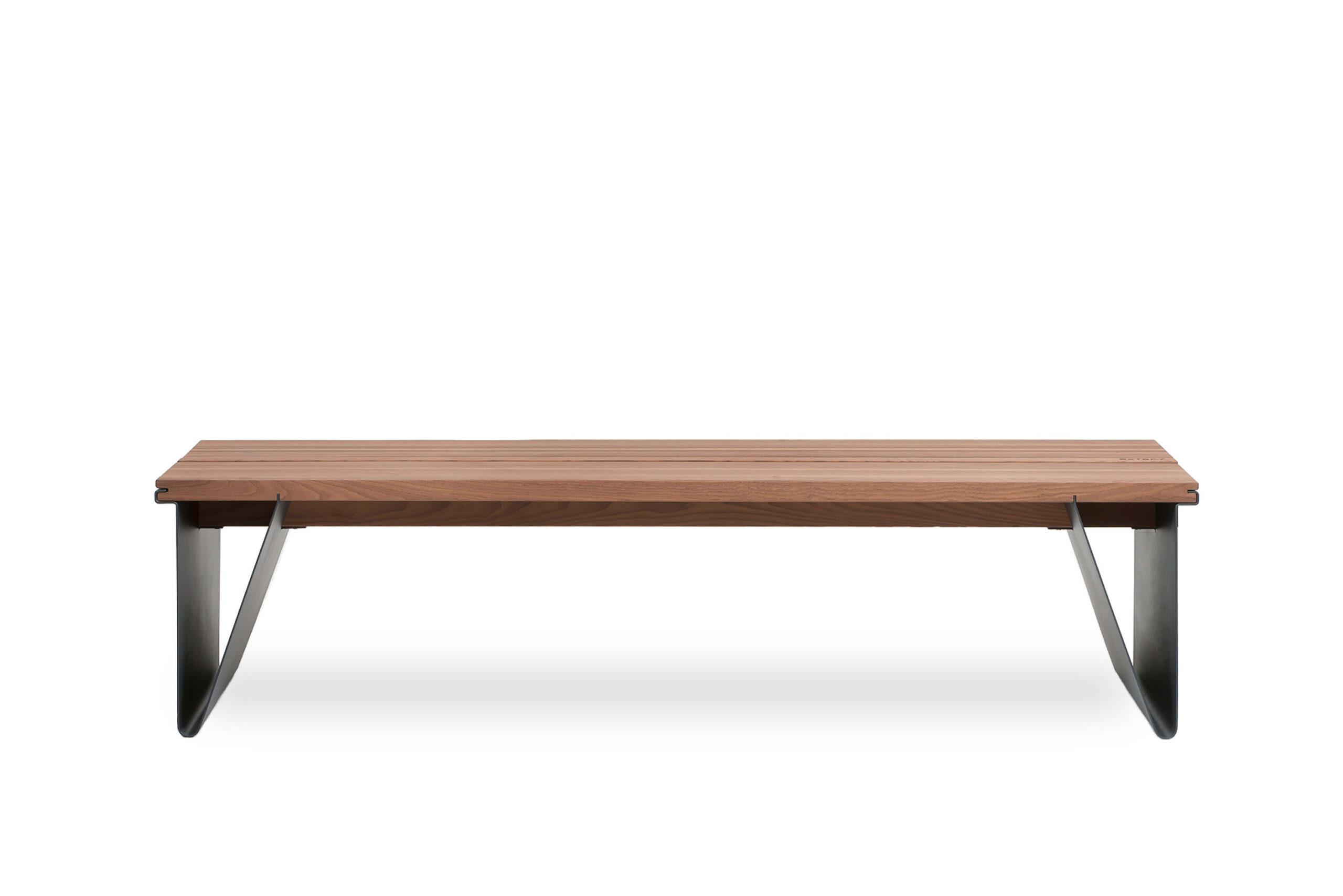 park bench Tava, without backrest